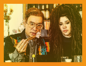 Fred and Carrie from Portlandia