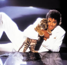 Michael Jackson and Tiger friend