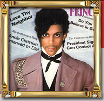the classic Controversy album by Prince